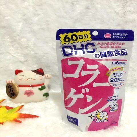 Viên Uống DHC Collagen - Hỗ Trợ Làm Đẹp Da Nhật Bản 60 Ngày
