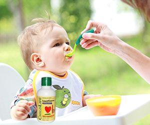 Calcium ChildLife - Siro vị cam chống còi xương, kích thích phát triển chiều cao cho bé