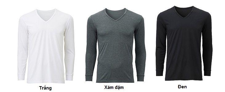 Các mẫu áo giữ nhiệt Uniqlo có bán tại chiaki.vn