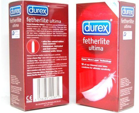 Bao cao su Durex Fetherlite Ultima 8