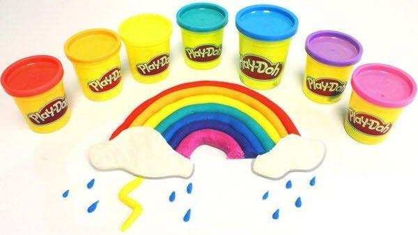 Đất nặn Play-Doh 8 màu cho bé thỏa sức sáng tạo