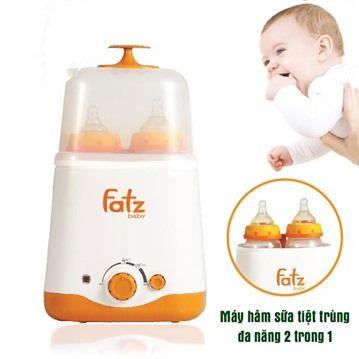 Công dụng của máy hâm sữa fatzbaby 2 bình tiệt trùng đa năng fb3011sl