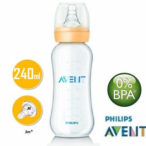 Bình sữa Avent với đầu ti có gân mềm giúp bé thoải mái hơn khi bú