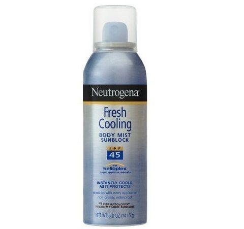 Xịt chống nắng Neutrogena fresh cooling SPF45 1