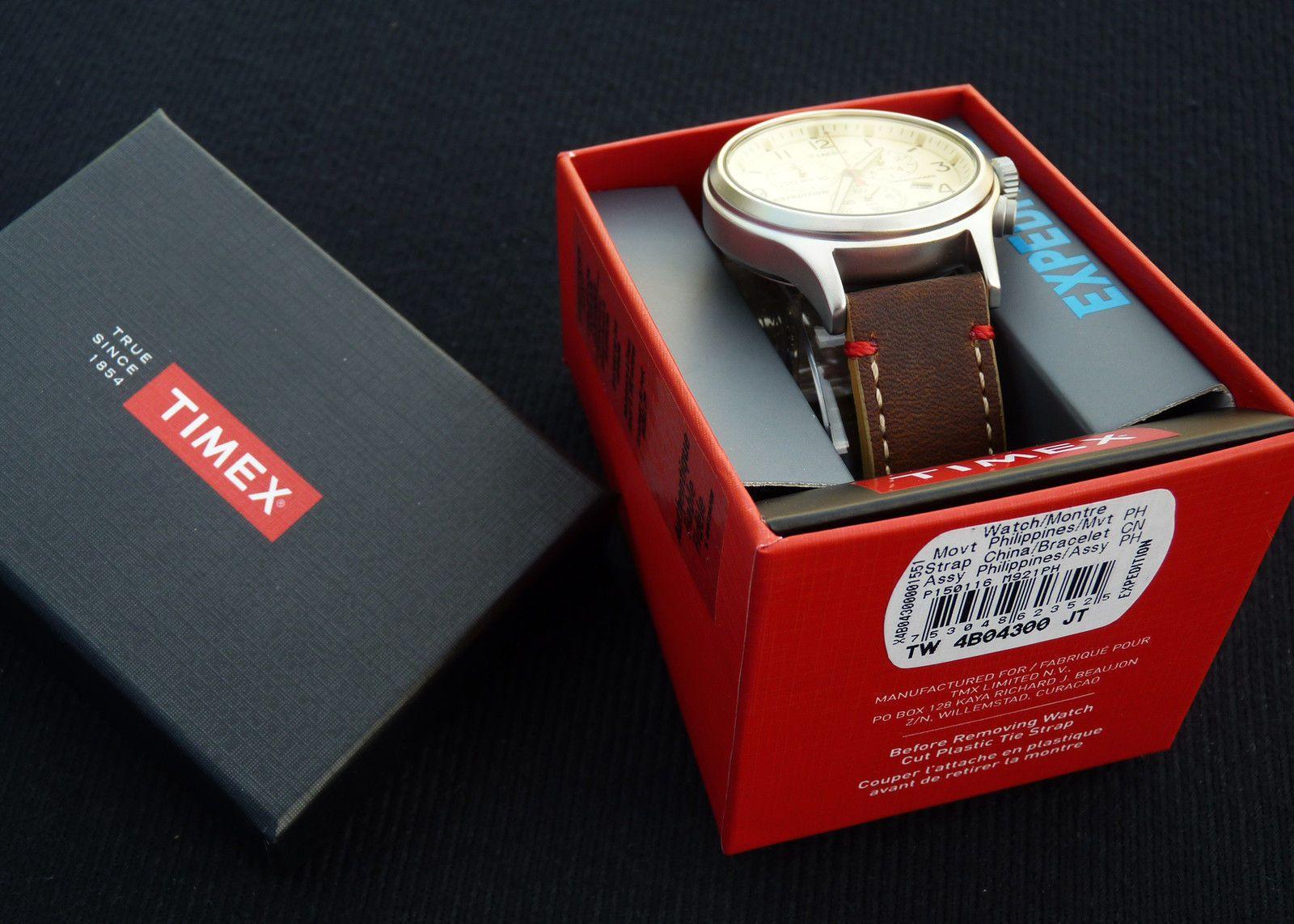 Hộp đựng đồng hồ Timex sang trọng, lịch sự