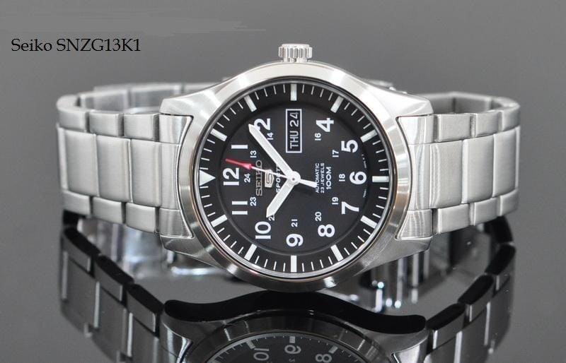 Đồng hồ Seiko SNZG13K1 mới lạ và độc đáo 2