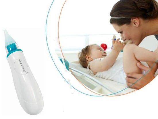 Máy Hút Mũi Bebe Confort Bằng Pin Của Pháp