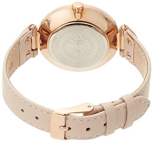 Đồng hồ Anne Klein nữ 10/9918RGLP thiết kế dây da rất giản dị