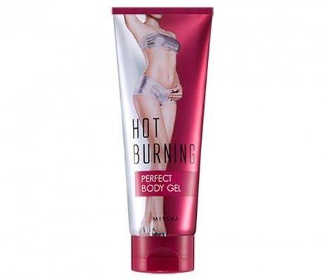Kem tan mỡ Missha Hot Burning Perfect Body Gel giúp đánh bay mỡ thừa tích tụ và làm săn chắc, thon gọn vùng da bạn mong muốn
