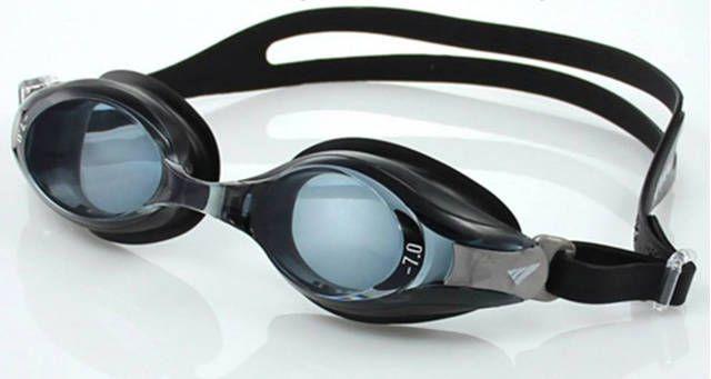 Kính bơi cận được thiết kế từ chất liệu silicone có đặc điểm kỹ thuật thân thiện với da