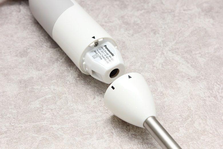 Thân máy và thân gắn lưỡi dao tháo lắp dễ dàng