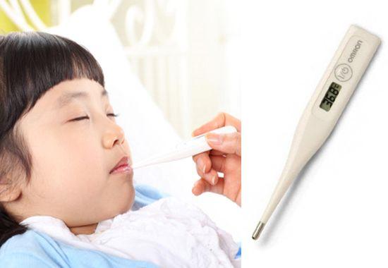 Nhiệt kế điện tử Omron MC-246 là thiết bị y tế cần thiết cho gia đình bạn