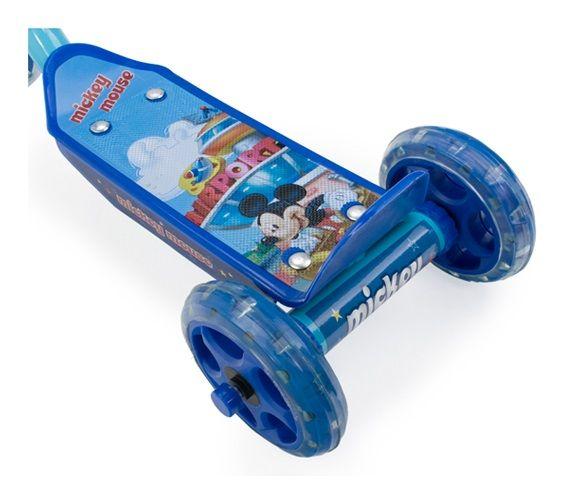 Bánh xe trượt Scooter 3 bánh chuột Mickey có khả năng chống trượt tốt