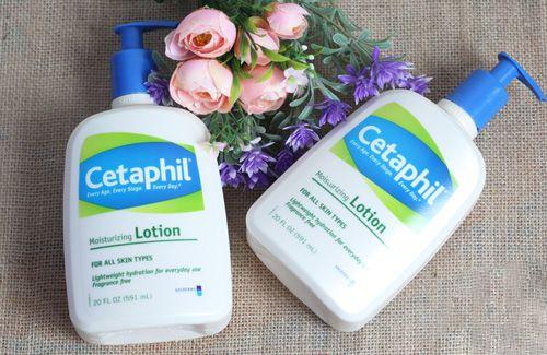 Cetaphil Moisturizing Lotion dễ dàng sử dụng hàng ngày
