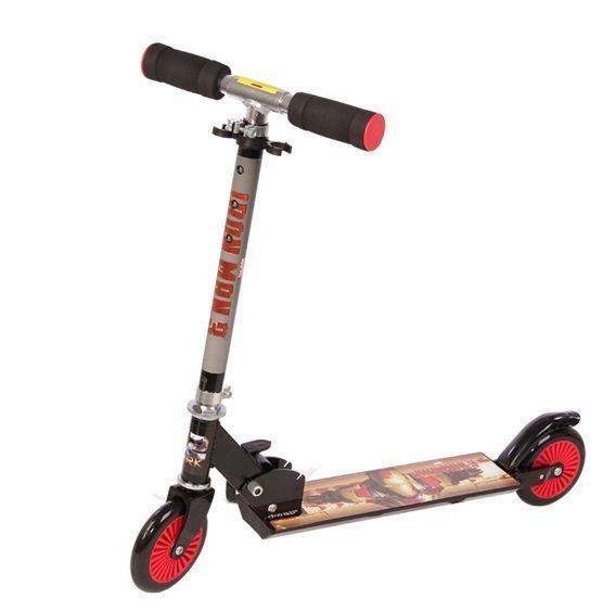Xe trượt Scooter 2 bánh in nhân vật Iron man