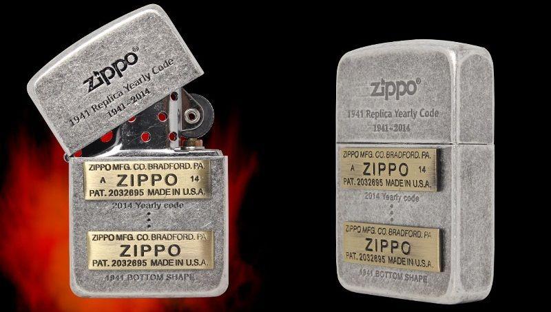 Bật lửa Zippo 1941 Replica Yearly Code SV Lighter 4