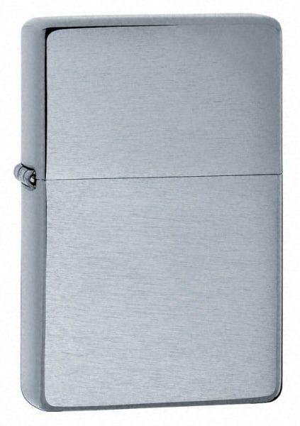 Bật lửa Zippo Vintage Brushed Chrome Lighter without Slashes 230.25 1