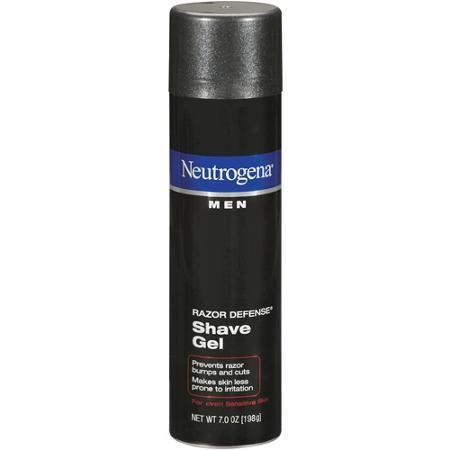 Gel cạo râu Neutrogena Men Razor Denfense Shave 198g được các chàng trai tin dùng