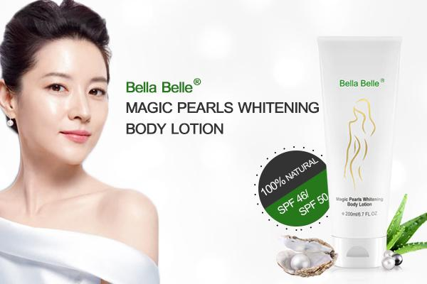 Kem dưỡng trắng da toàn thân Bella Belle SPF50 của Pháp an toàn và hiệu quả