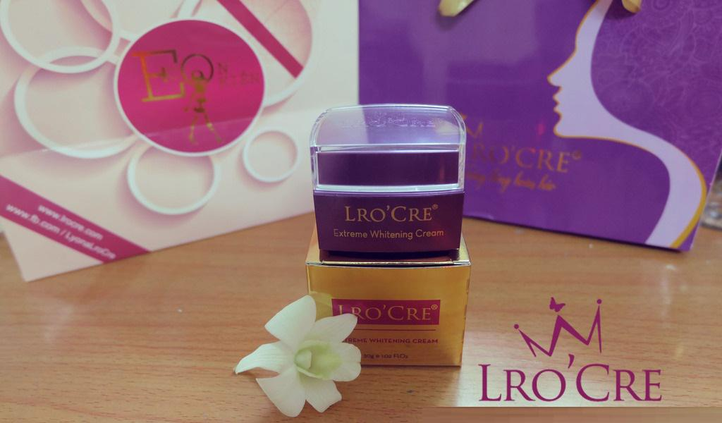 Kem dưỡng trắng da Lro'cre Extreme Whitening Cream ban đêm dành cho da mặt