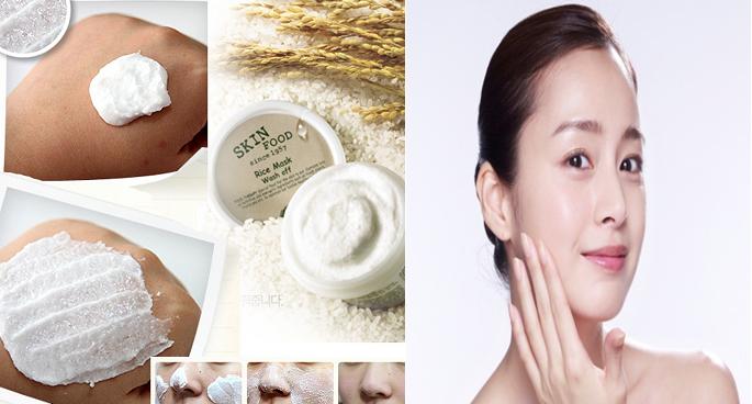 Mặt nạ cám gạo Skinfood chứa rất nhiều vitamin và khoáng chất, cung cấp chất dinh dưỡng cho da, làm mờ vết thâm, giúp da trắng sáng một cách tự nhiên
