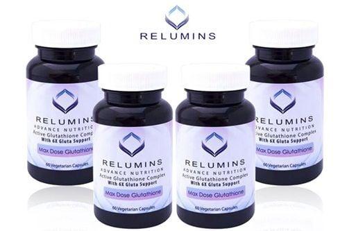 Viên uống trắng da Relumins advance white 6x