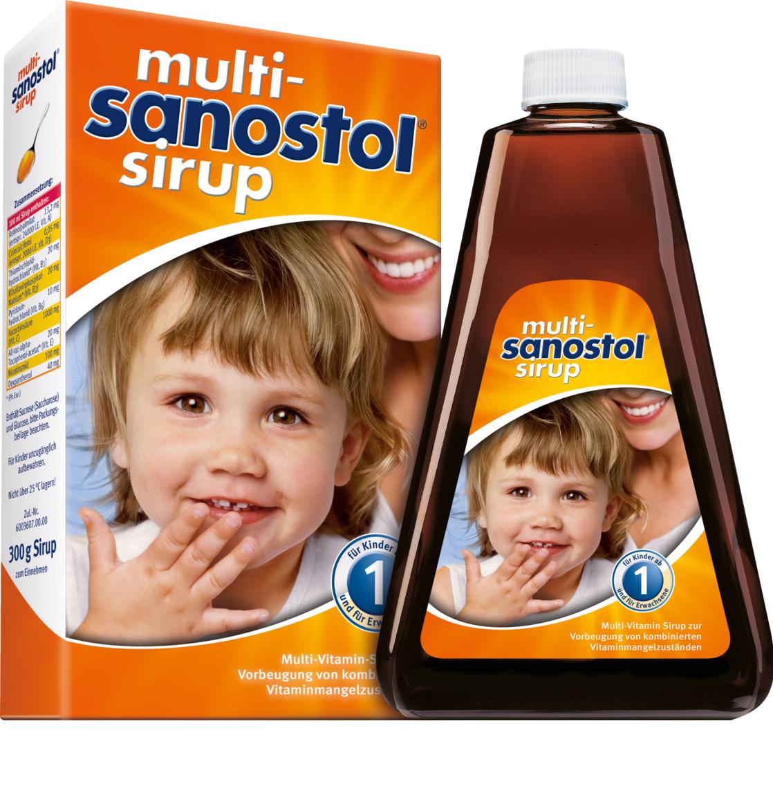 Viatmin tổng hợp Sanostol số 1 cho trẻ 1-3 tuổi dạng siro