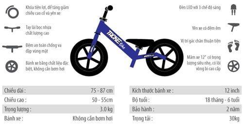Chi tiết kĩ thuật xe cân bằng Tacke TK011
