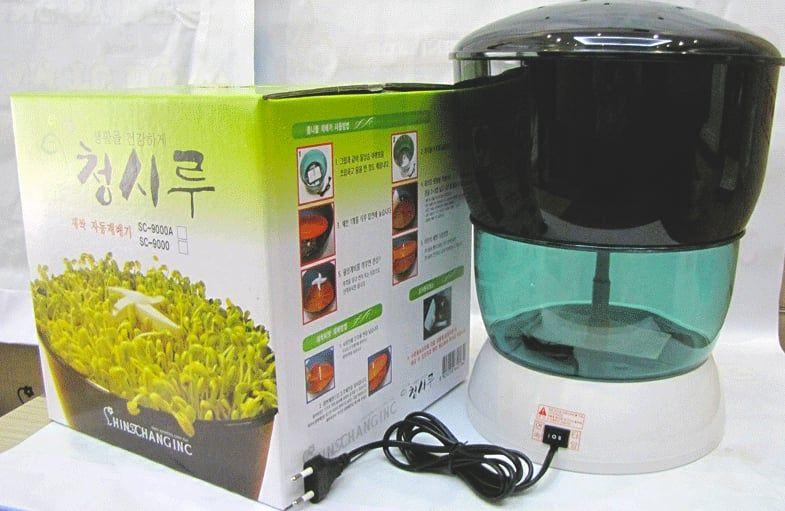 Máy trồng rau mầm Dr.Green SC-9000 được thiết kế nhỏ gọn sang trọng