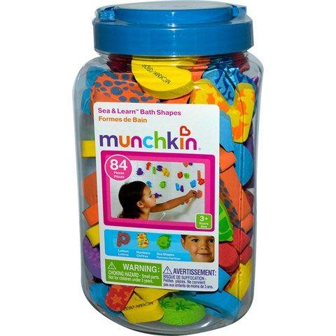 Bộ hình và chữ số xốp Munchkin MK11022 gồm 84 chi tiết dành cho trẻ trên 3 tuổi