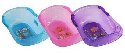 Chậu tắm cho bé nhựa trong Thái Lan cao cấp nhiều màu sắc