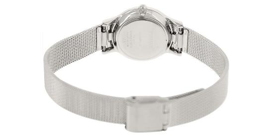 Đồng hồ Timex T2P167 Ladies Premium Silver Watch cho nữ 4