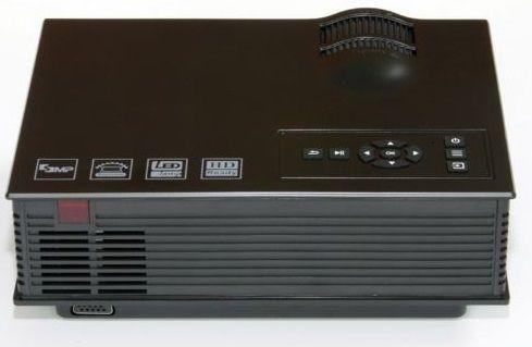 Máy chiếu UNIC UC40 Plus phiên bản màu đen