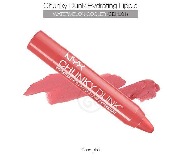 Son dưỡng Nyx Chunky Dunk Hydrating Lippie  2