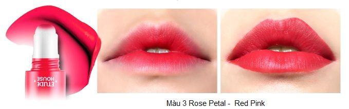 Rosy Tint Lips – Son kem Etude House lên màu cực chuẩn 4