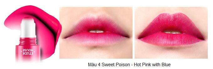 Rosy Tint Lips – Son kem Etude House lên màu cực chuẩn 5