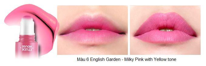 Rosy Tint Lips – Son kem Etude House lên màu cực chuẩn 7