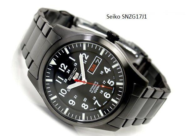 Đồng hồ Seiko SNZG17J1 dành cho nam giới 4