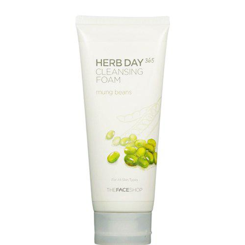 Sữa rửa mặt The Face Shop Herb Day 365 Cleansing Foam 6