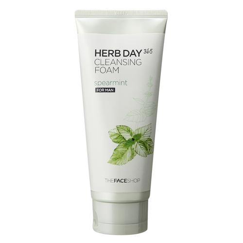 Sữa rửa mặt The Face Shop Herb Day 365 Cleansing Foam 7