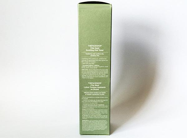 Xịt khoáng The Face Shop Chia Seed Soothing Mist Toner 3