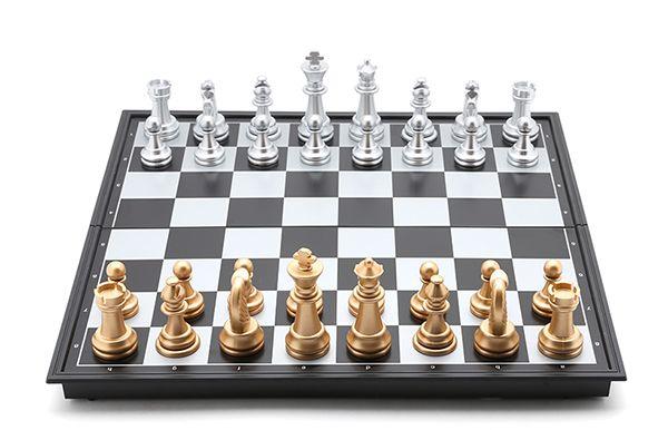 Bàn cờ vua nam châm UB nhỏ thiết kế bàn gập vô cùng tiện dụng