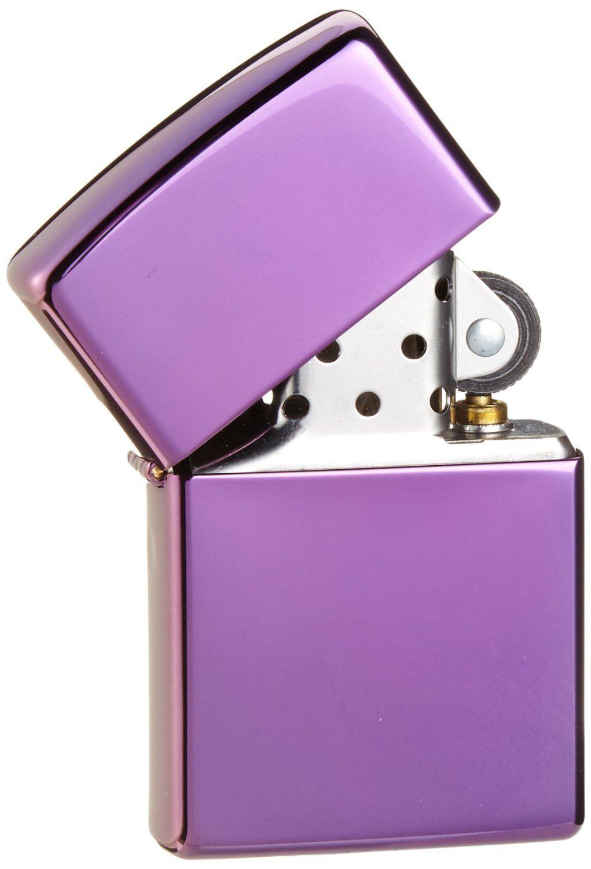 Zippo Slim Abyss Lighter mạ crome hai mặt, bền đẹp và tinh tế