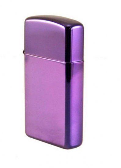 Bật lửa Zippo Lighter Slim Abyss 28124 màu tím ấn tượng