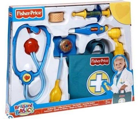 Bộ đồ chơi bác sĩ Fisher Price N5045 chơi gồm nhiều dụng cụ khám chữa bệnh