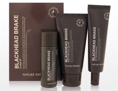Bộ gel lột mụn đầu đen Blackhead Brake 3 step kit gồm 3 sản phẩm toner, mặt nạ và serum