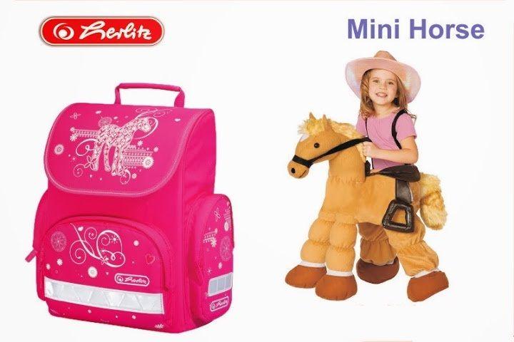 Cặp sách Herlitz mini cho học sinh mẫu giáo và tiểu học 4