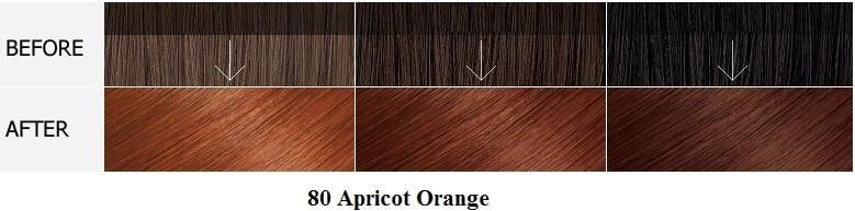 Màu 80 Apicot Orange