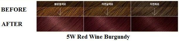 Màu 5W Red Wine Burgundy