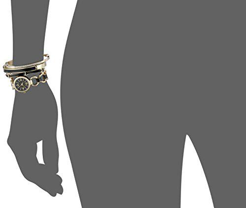 Set đồng hồ Anne Klein AK/1982BKST và 3 vòng đeo tay cho nữ 3